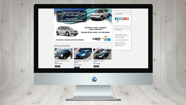 Website - SIM Veículos