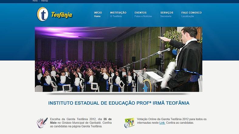 Website Teofânia