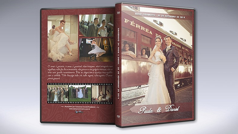 Blu-ray e DVD de Casamento