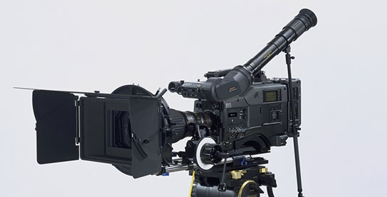 Sony HDW-F900 utilizada na filmagem de Ataque dos Clones.