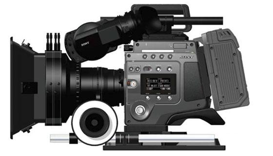 Sony F65 Cinealta 4K